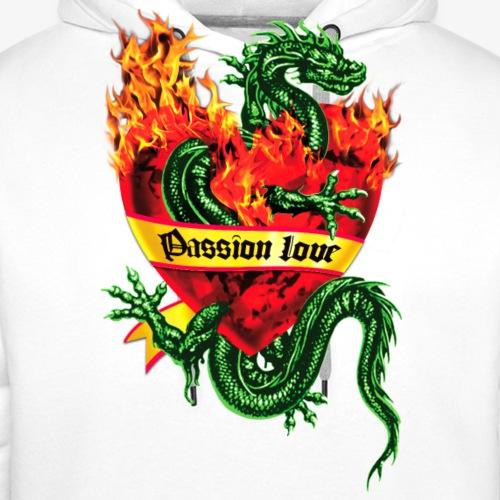 Passion Love / Fire Heart Tattoo Dragon Valentine