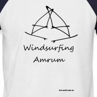 Motiv ~ Windsurfing Amrum Kontrast Shirt