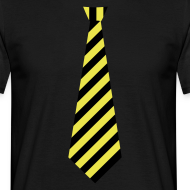 Ontwerp ~ Stropdas streep geel