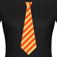Ontwerp ~ Stropdas streep oranje