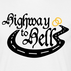 Highway to hell - Männer T-Shirt