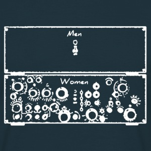 Men/Women Synthesizer - Männer T-Shirt