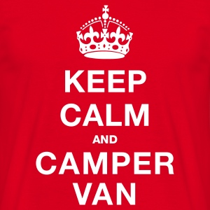 KEEP CALM MISTER [CAMPER VAN] - Men's T-Shirt