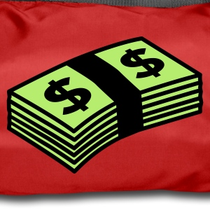 Rouge Money dollars Color Sacs - Sac de sport