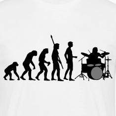 evolution_drummer_b_2c T-Shirts