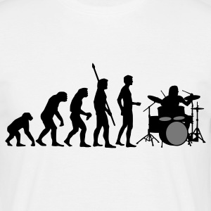 evolution_drummer_b_2c T-shirts - Herre-T-shirt