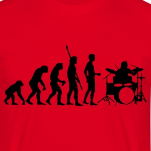 evolution_drummer_b_1c T-Shirts - Men's T-Shirt