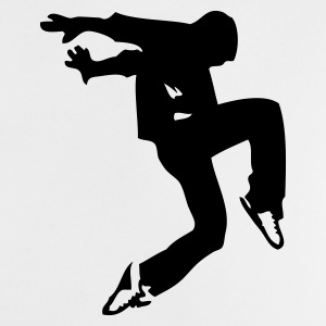 Blanco break dance luxe Camisetas bebés - Camiseta bebé