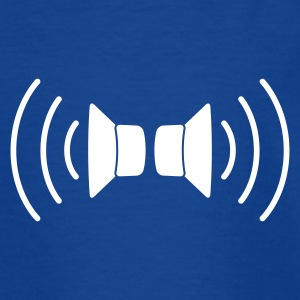 Royalblau speakers stereo Kinder T-Shirts - Teenager T-Shirt