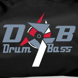 Black D'n'b -  drum 'n' Bass Logo Bags  - Duffel Bag