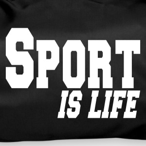 Sort sport is life Tasker - Sportstaske