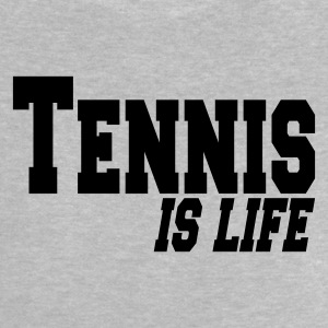 Heather grey tennis is ife T-shirt neonato - Maglietta per neonato