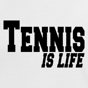 Hvid/sort tennis is ife T-shirts - Dame kontrast-T-shirt