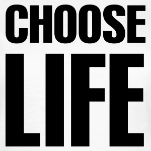 White Choose life Women's T-Shirts - Women's T-Shirt