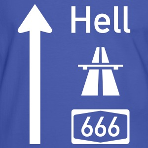 Highway To Hell T-Shirts - Männer Kontrast-T-Shirt