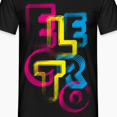 Black ELECTRO Rave T-Shirts