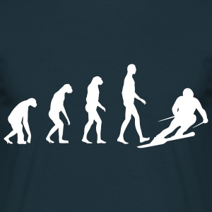 Navy Evolution Ski T-Shirts - Männer T-Shirt