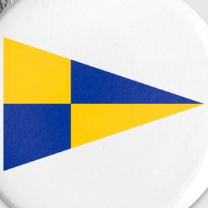 EU Fishery Inspection Teams Pennant - Buttons large 56 mm