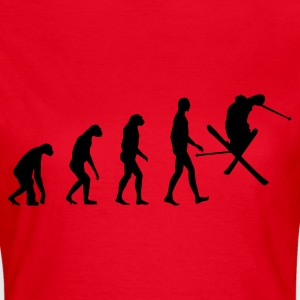 Red Evolution Ski Women's T-Shirts - Women's T-Shirt