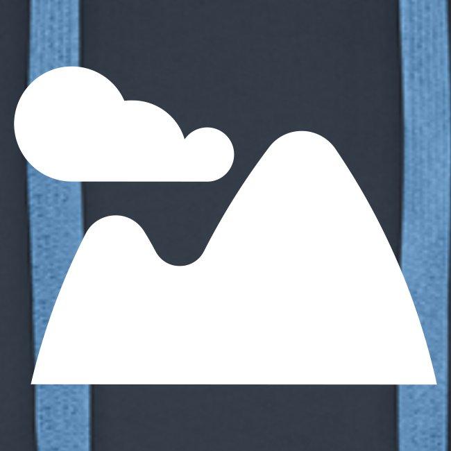 Kapuzenpullover für Männer. Landscape