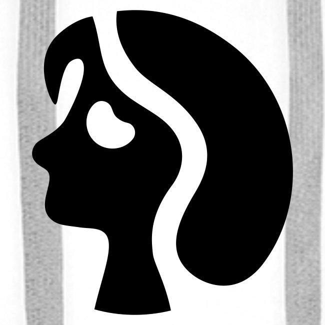 Kapuzenpullover für Männer. Portrait