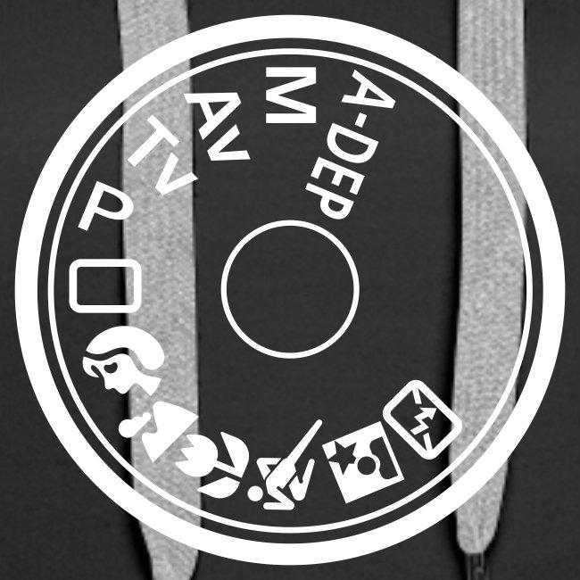 Kapuzenpullover für Frauen Programmwahlrad