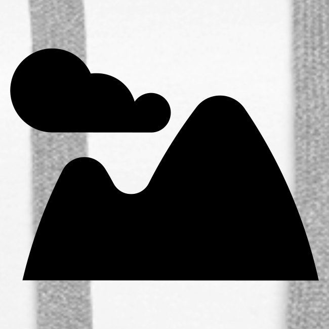 Kapuzenpullover für Frauen Landscape