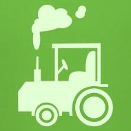 Motiv ~ Traktor (glow in the dark) - Kinder Kapuzenpullover