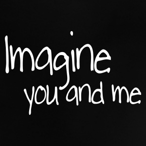 Svart imagine you and me Babyskjorter - Baby-T-skjorte