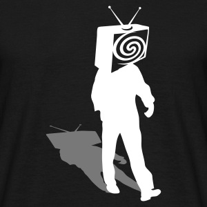 Black Televized 2 Men's T-Shirts - Men's T-Shirt