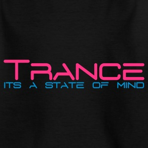 Black Trance State of Mind Kids' Shirts - Teenage T-shirt