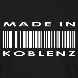 Sort Koblenz T-shirts - Herre-T-shirt