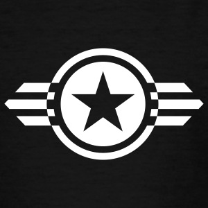 Black star with wings deluxe Kids' Shirts - Teenage T-shirt