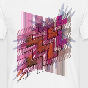 Hyperspace Men's T-shirt, white - Men's T-Shirt