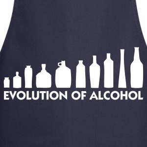 Navy Evolution of Alcohol 1 (1c)  Aprons - Cooking Apron