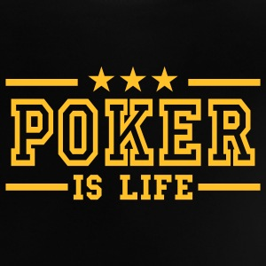 Black poker is life deluxe Baby Shirts  - Baby T-Shirt