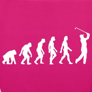 Evolution of Golf (1c) Bags  - EarthPositive Tote Bag