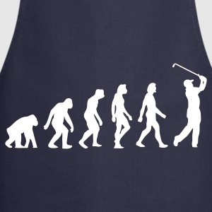 Navy Evolution of Golf (1c)  Aprons - Cooking Apron