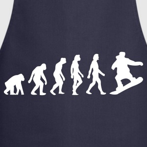 Navy Evolution of Snowboarding (1c)  Aprons - Cooking Apron