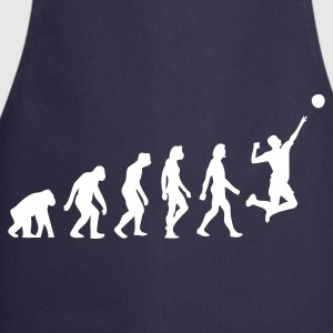 Navy Evolution of Volleyball (1c)  Aprons - Cooking Apron