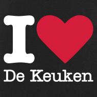 Ontwerp ~ I Love De Keuken Schort