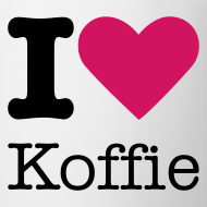 Ontwerp ~ I Love Koffie Mok