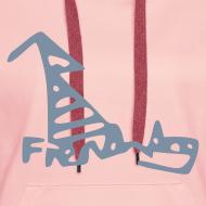 Design ~ French Dog Women's Hoodie