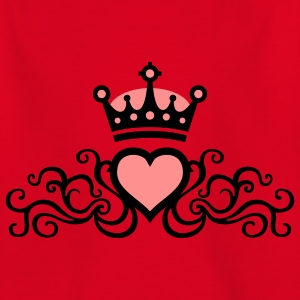 tribal_heart_b_2c Shirts - Teenage T-shirt