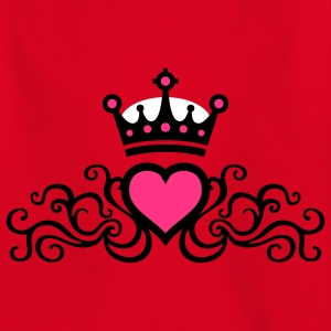 tribal_heart_b_3c Shirts - Teenage T-shirt