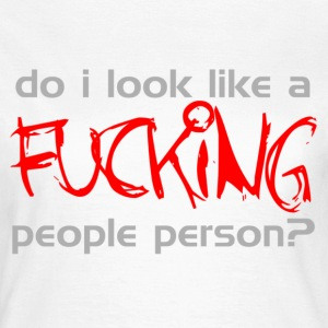 People Person T-Shirts - Women's T-Shirt