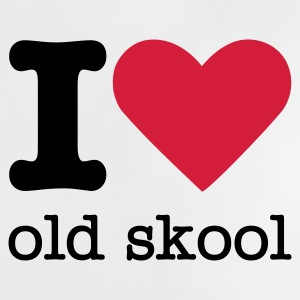 I Love Old Skool Baby T-Shirts - Baby T-Shirt