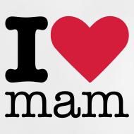 Ontwerp ~ I Love Mam Babyshirt