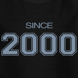 Black birthday gift 2000 Kids' Shirts - Teenage T-shirt