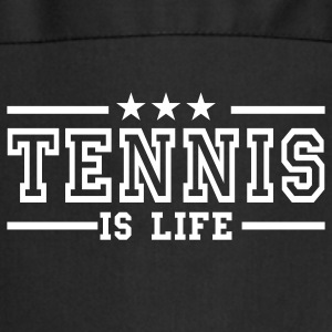 Sort tennis is life deluxe Forklæder - Forklæde